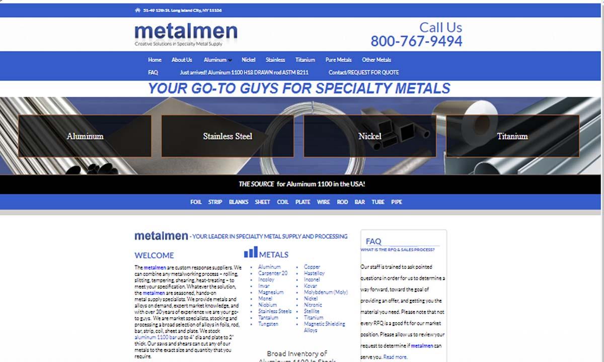 Metalmen Sales Inc.