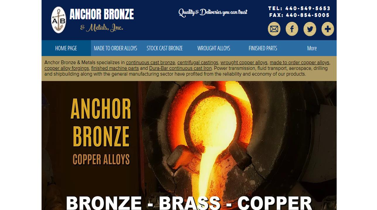 Anchor Bronze & Metals, Inc