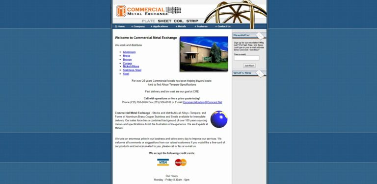 Commercial Metal Exchange