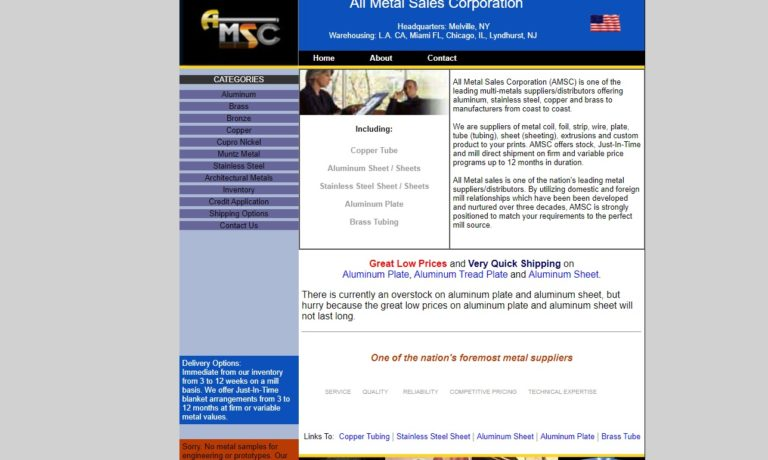All Metal Sales Corporation